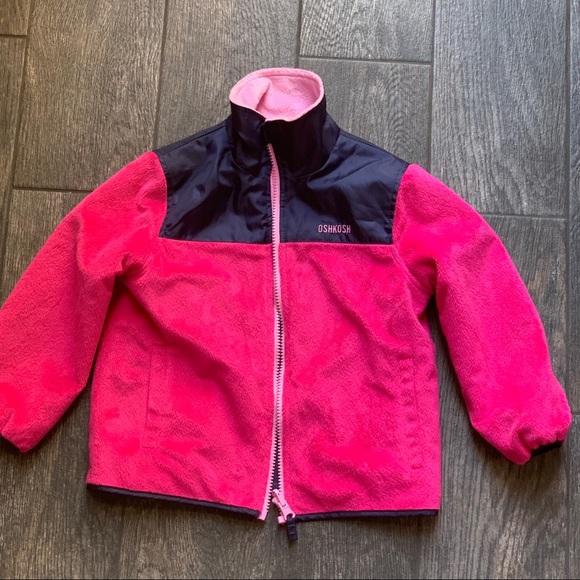 OshKosh B'gosh Other - $22 ‼️Reverse jacket for girls size 4T